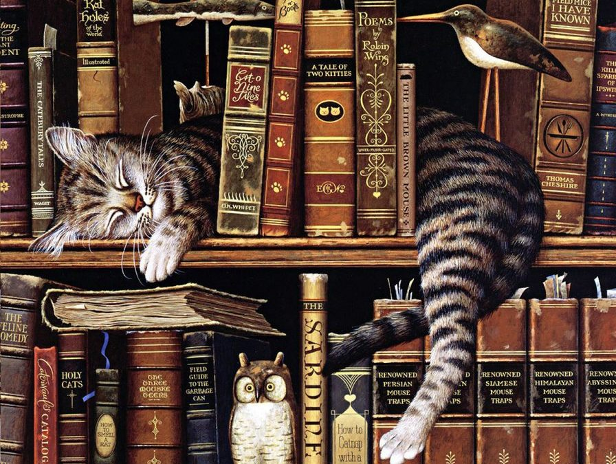 18 интересных фактов о книгах и чтении