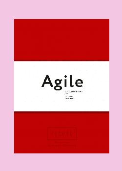 Космос. Agile-ежедневник для личного развития. Красная обложка