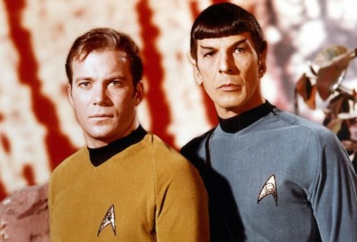 Персонажи популярного сериала Star Trek