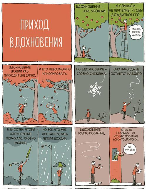"""где искать вдохновение, книга """"Где искать идеи"""""""
