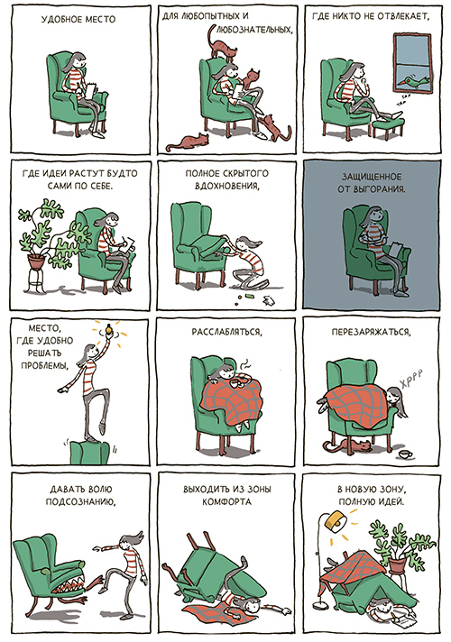 """где взять новые идеи, книга """"В поиске идей"""""""