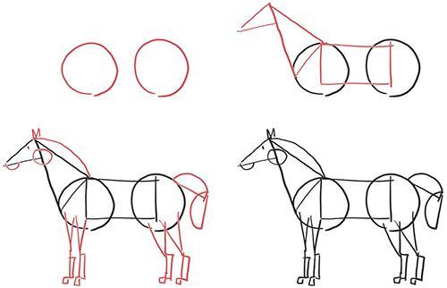 """рисунок из книги Дэна Роэма """"Рисуй, чтобы победить"""""""