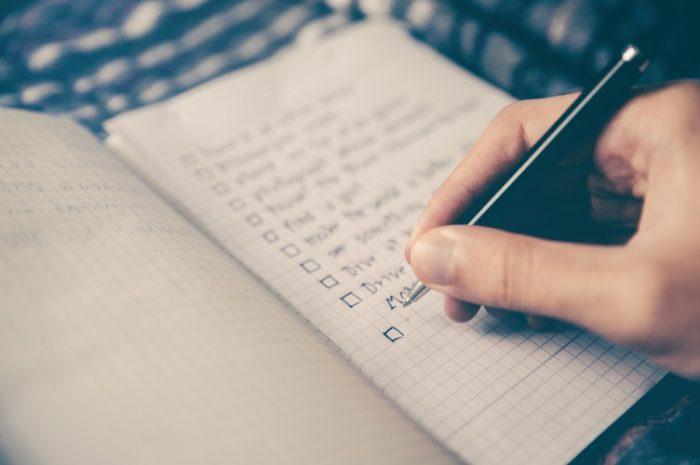 Списки - эффективный инструмент метода GTD