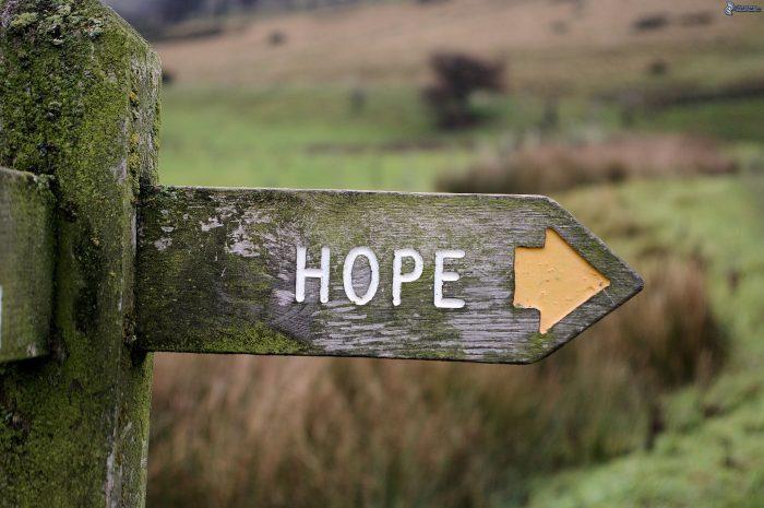 Надежду не волнует статистика прошлого. Она - всегда взгляд в будущее