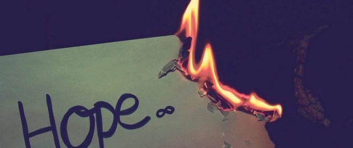 Надежда - призрачная штука. Не надейтесь, но и не отчаивайтесь