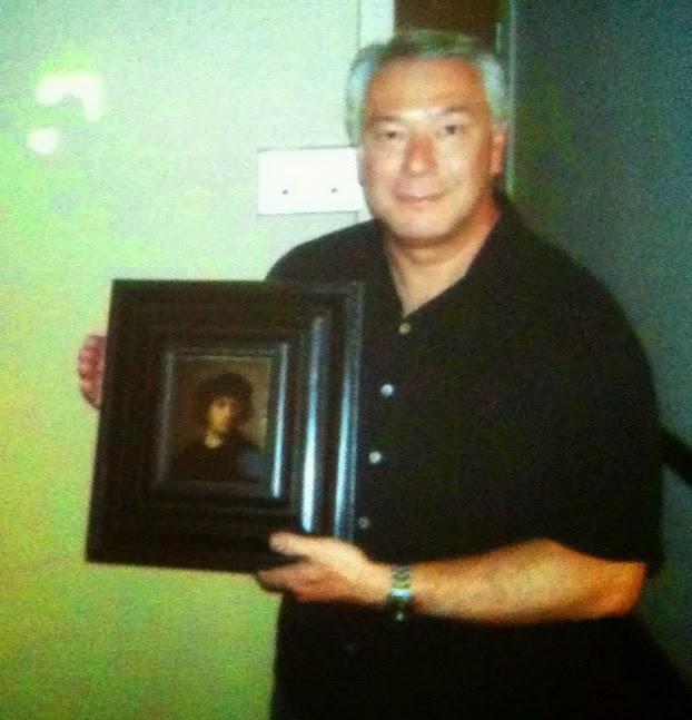Роберт Уиттман с найденным автопортретом Рембранта