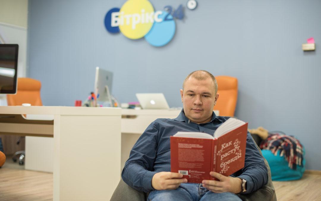 Книжная полка: что читает Дмитрий Суслов