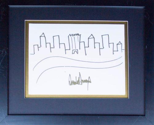 рисунок Дональда Трампа