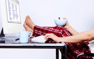 Диван или кабинет? Как организовать рабочий процесс творческому человеку из дома