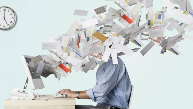 перестаньте постоянно проверять электронную почту